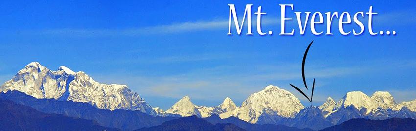 Mountain view from Nagarkot